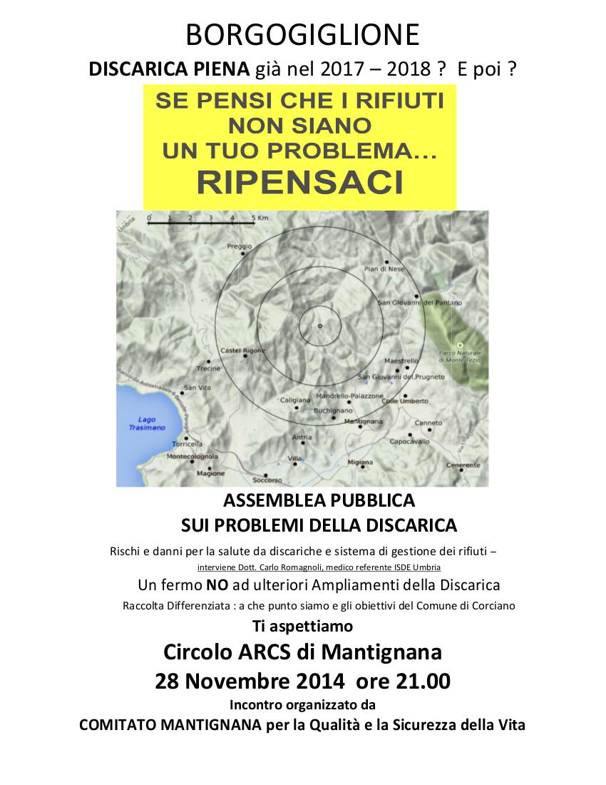 28/11/2014, Comitato di Mantignana, Assemblea su Borgogiglione