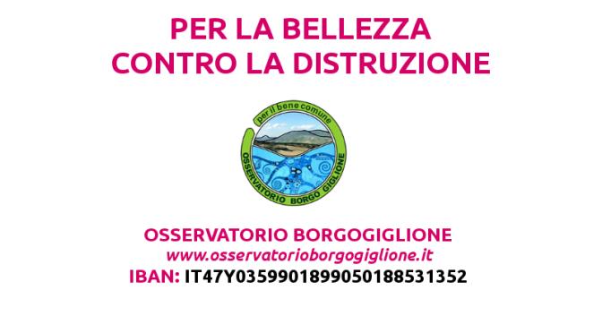 Ci serve il vostro aiuto contro la distruzione dell'area nord di Perugia. Anche economico