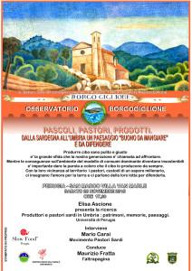 """Pascoli, pastori, prodotti. Dalla Sardegna all'Umbria un paesaggio """"buono da mangiare"""" e da difendere"""