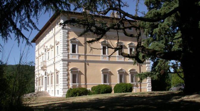 La Villa del Colle del Cardinale